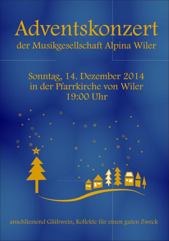 Weihnachtskonzert 2014