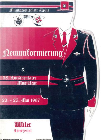Neuuniformierung 1997