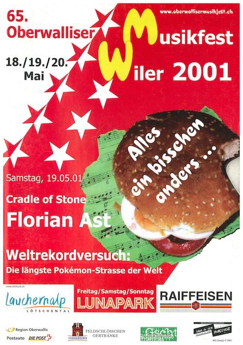 65. Oberwalliser Musikfest 2001